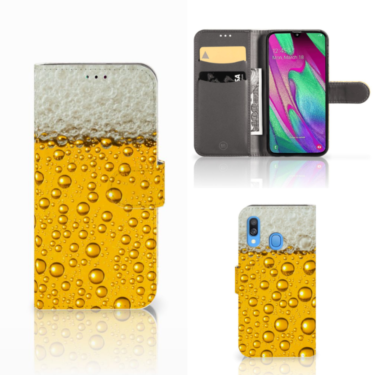 Samsung Galaxy A40 Book Cover Bier