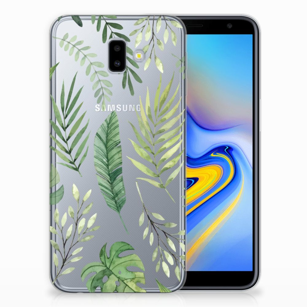 Samsung Galaxy J6 Plus (2018) TPU Case Leaves