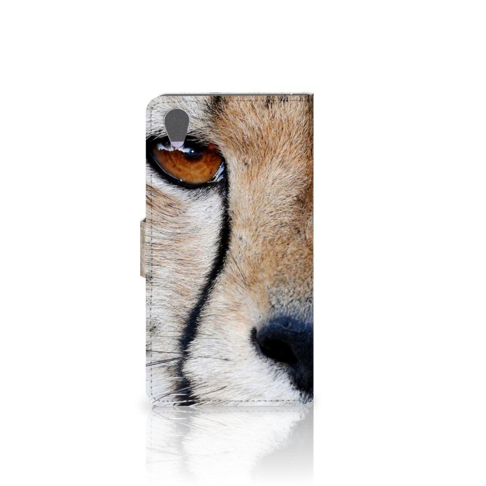 Sony Xperia Z1 Telefoonhoesje met Pasjes Cheetah