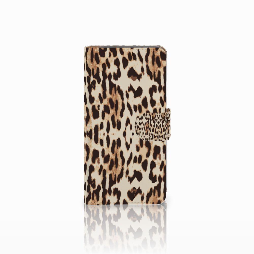 Google Pixel Uniek Boekhoesje Leopard