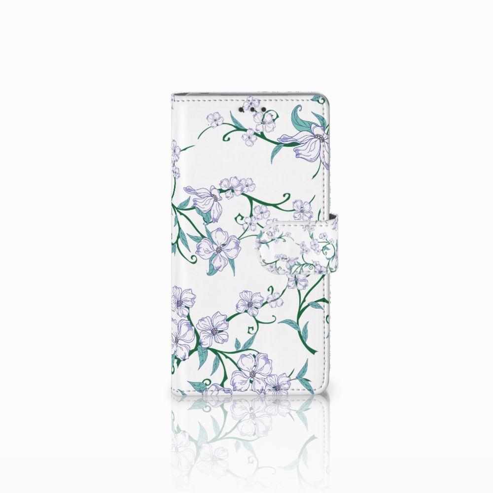 Sony Xperia Z Uniek Boekhoesje Blossom White