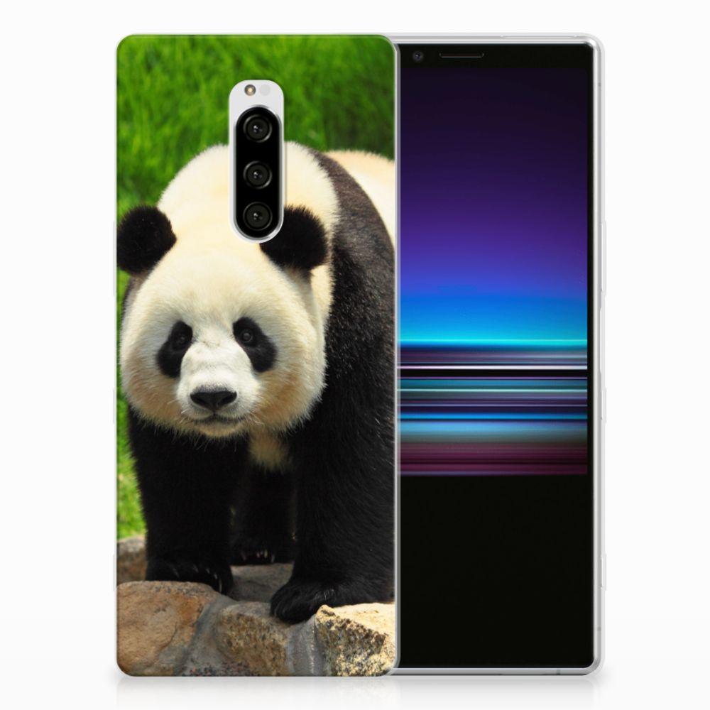 Sony Xperia 1 TPU Hoesje Panda