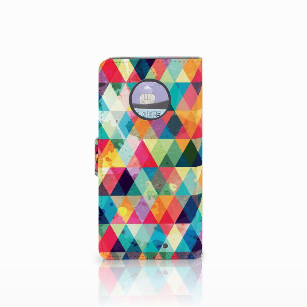 Motorola Moto X4 Telefoon Hoesje Geruit