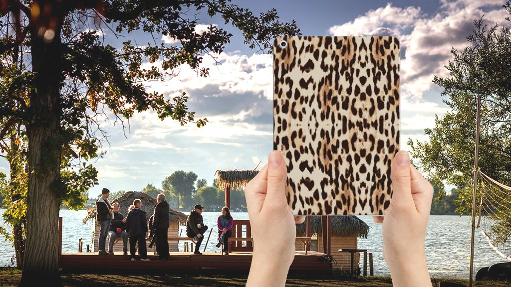 Apple iPad 9.7 2018 | 2017 Back Case Leopard