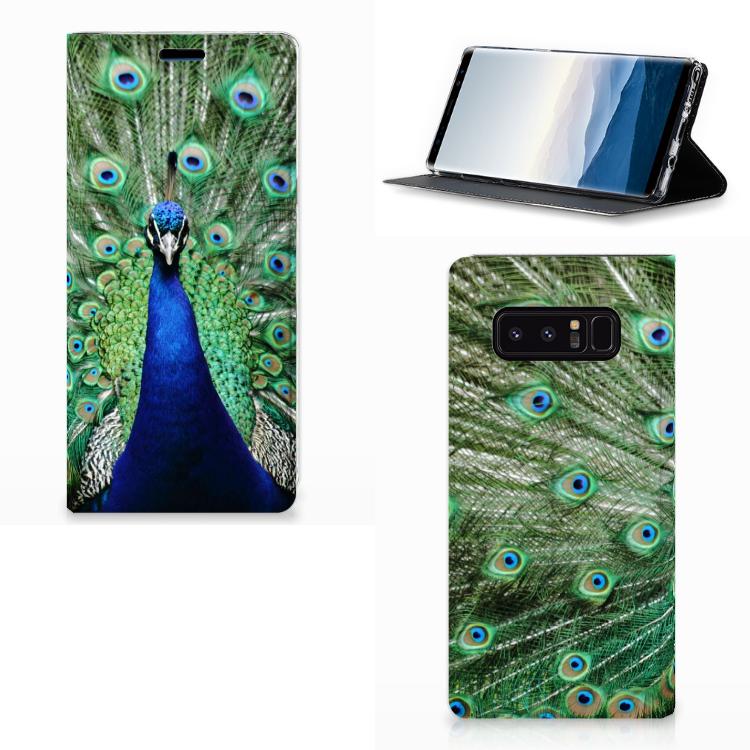 Samsung Galaxy Note 8 Hoesje maken Pauw