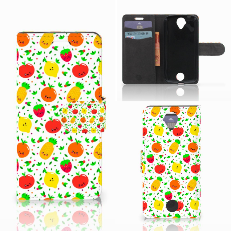 Acer Liquid Z330 Book Cover Fruits