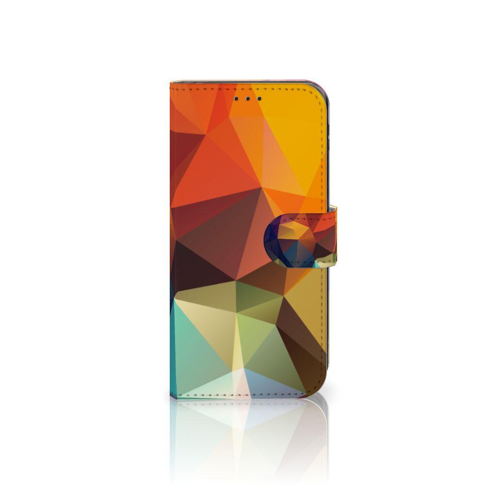 Samsung Galaxy J5 2017 Boekhoesje Design Polygon Color