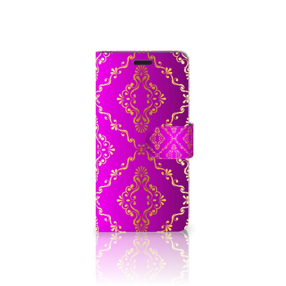 Wallet Case HTC 10 Barok Roze