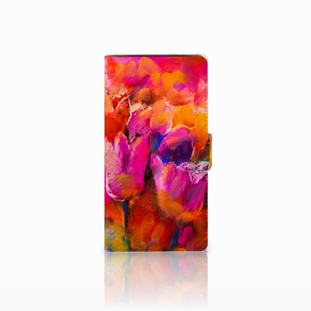 Hoesje Sony Xperia C4 Tulips