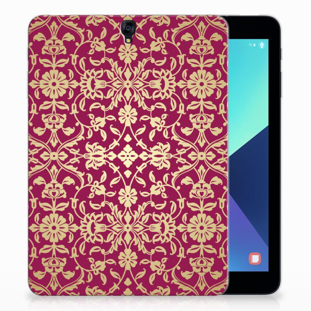 Samsung Galaxy Tab S3 9.7 Tablethoesje Design Barok Pink