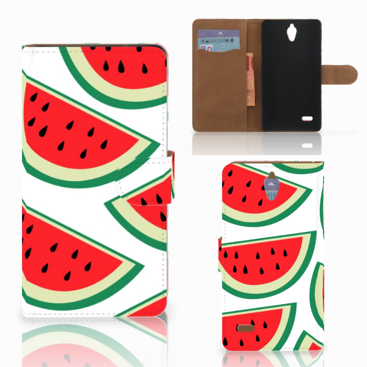 Huawei Ascend G700 Book Cover Watermelons