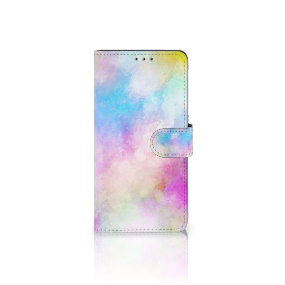 Hoesje Samsung Galaxy A8 Plus (2018) Watercolor Light