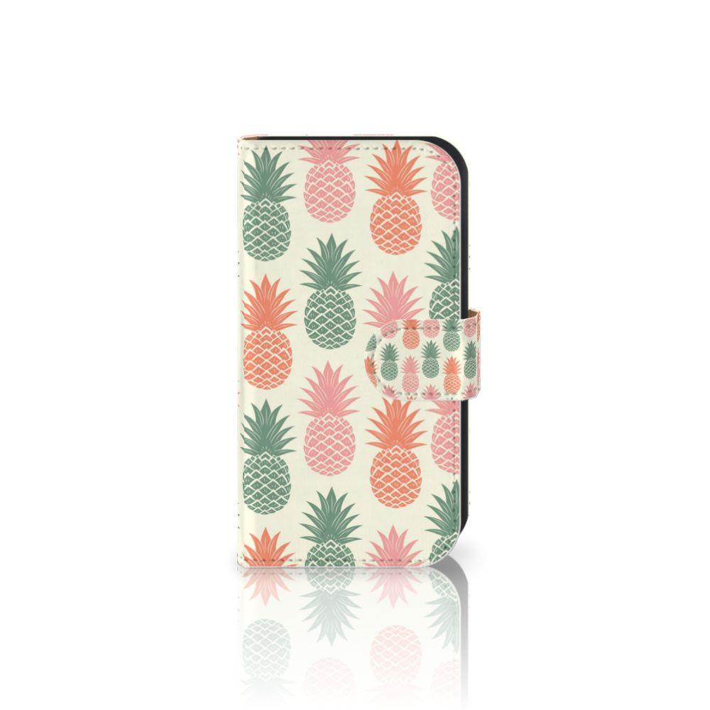 Samsung Galaxy Ace 4 4G (G357-FZ) Boekhoesje Design Ananas