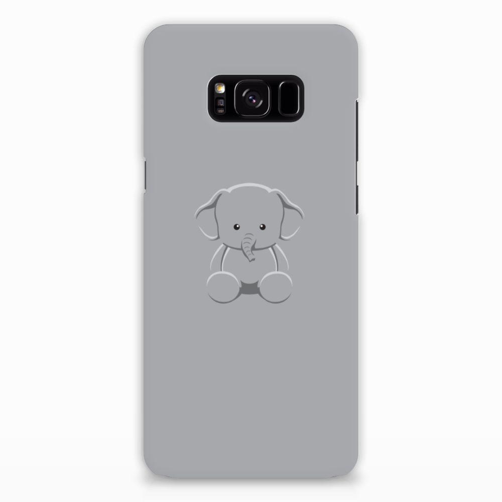 Samsung Galaxy S8 Plus Uniek Hardcase Hoesje Baby Olifant