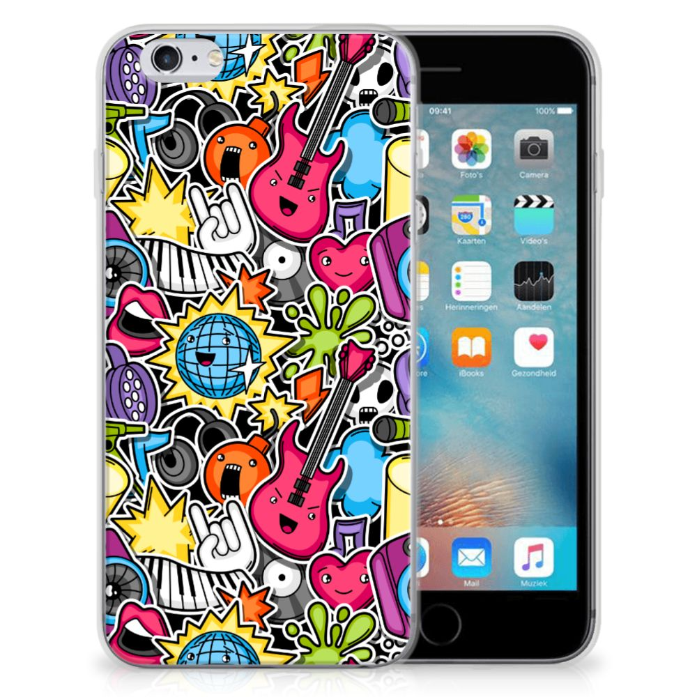 Apple iPhone 6 | 6s Silicone Back Cover Punk Rock