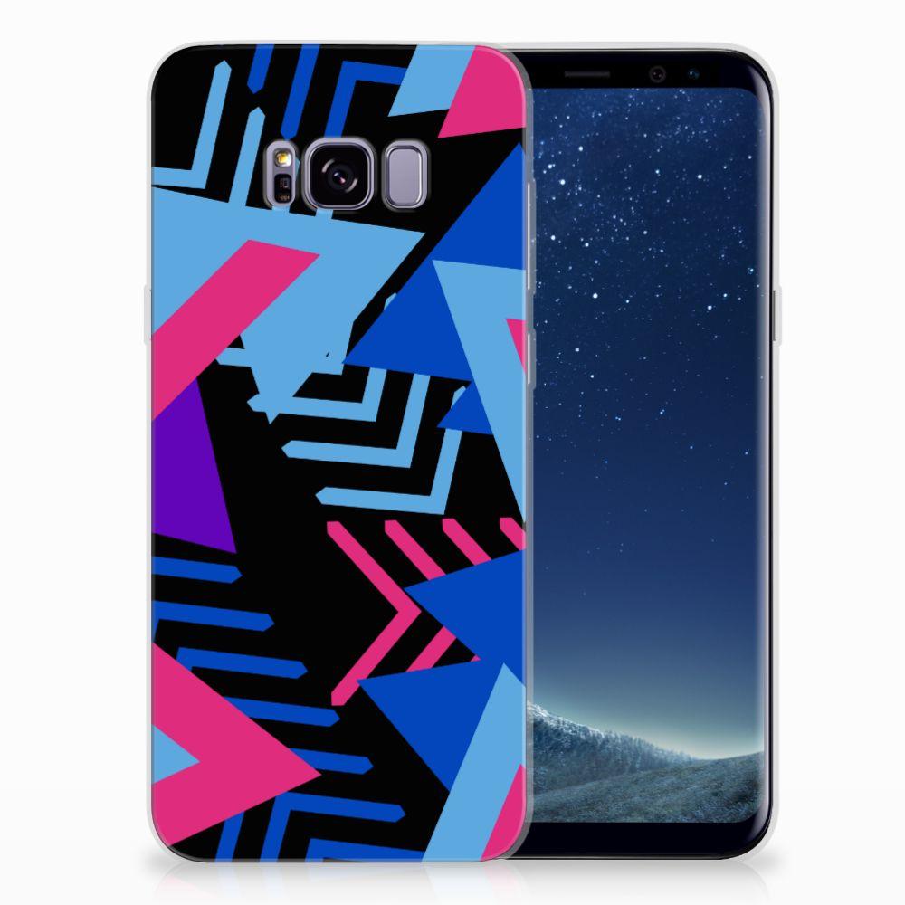 Samsung Galaxy S8 Plus TPU Hoesje Funky Triangle