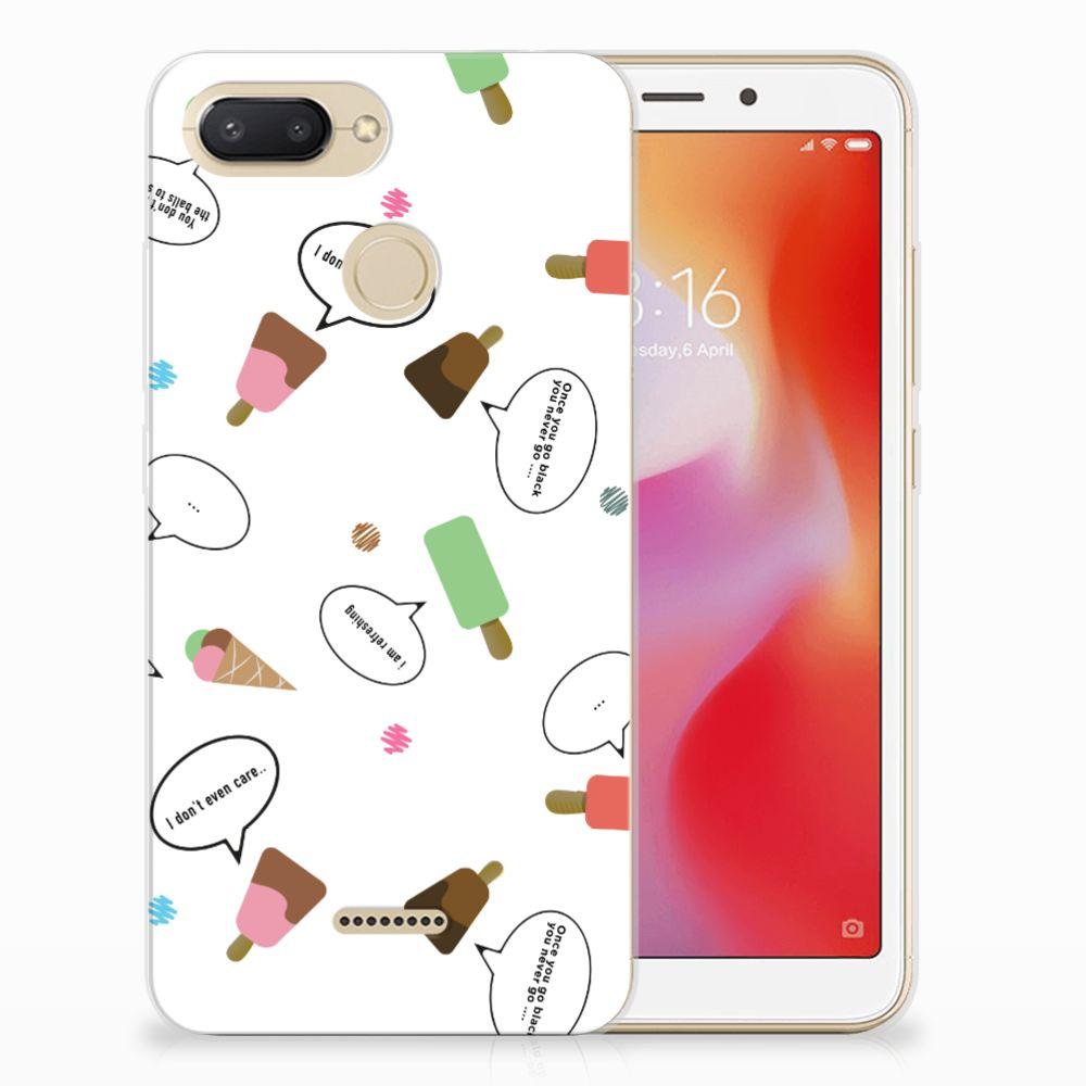 Xiaomi Redmi 6 Siliconen Case IJsjes