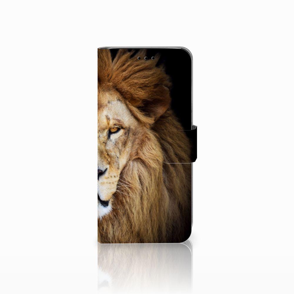 Samsung Galaxy A6 2018 Boekhoesje Design Leeuw