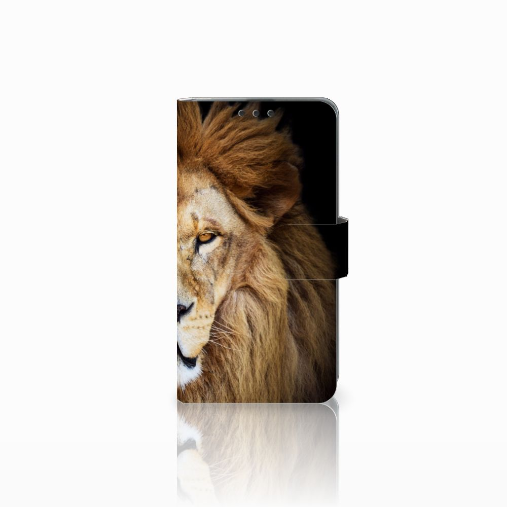 Microsoft Lumia 535 Boekhoesje Design Leeuw