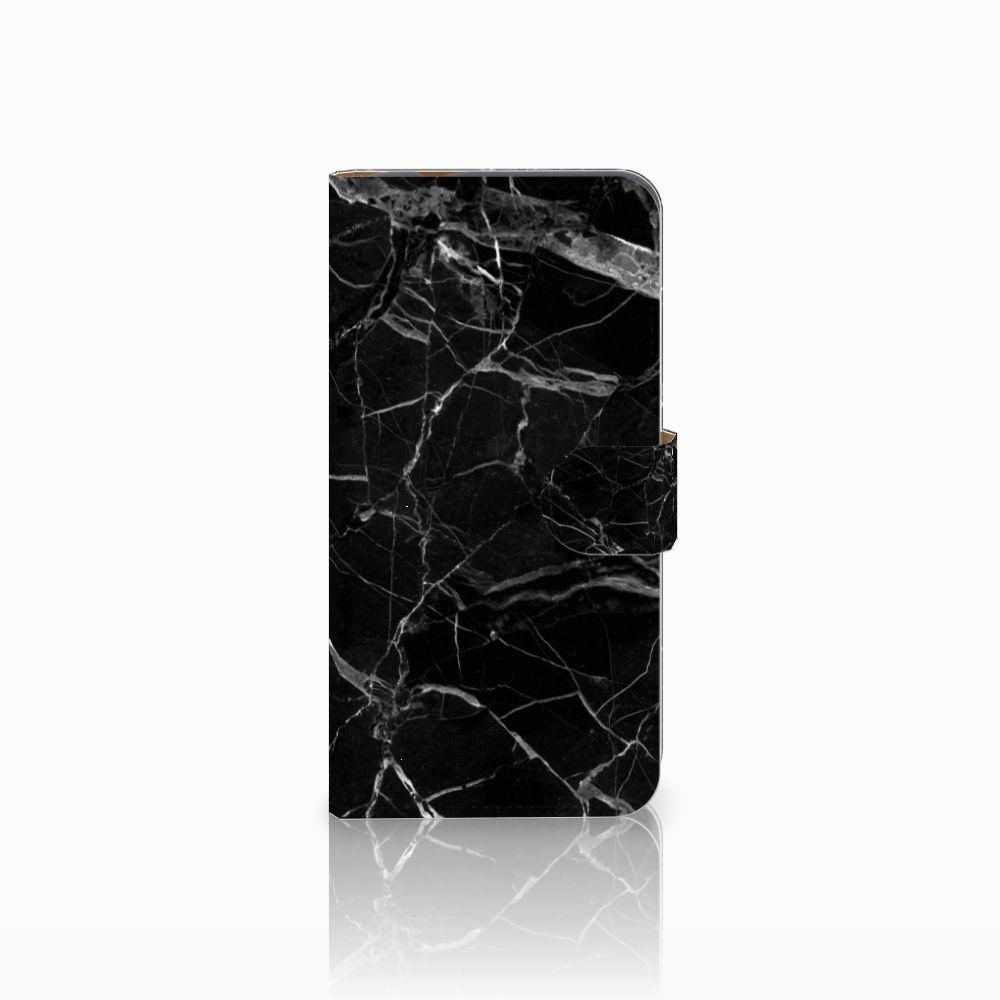 Huawei Nova Plus Uniek Boekhoesje Marmer Zwart