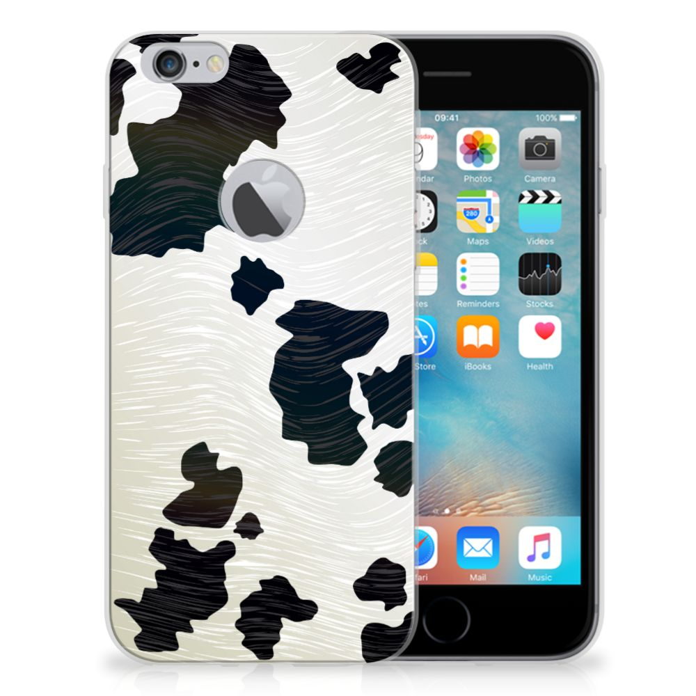 Apple iPhone 6 Plus | 6s Plus TPU Hoesje Koeienvlekken