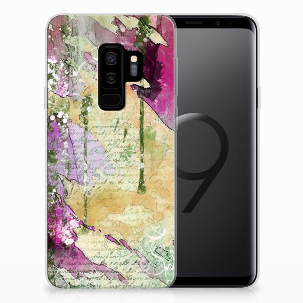 Hoesje maken Samsung Galaxy S9 Plus Letter Painting