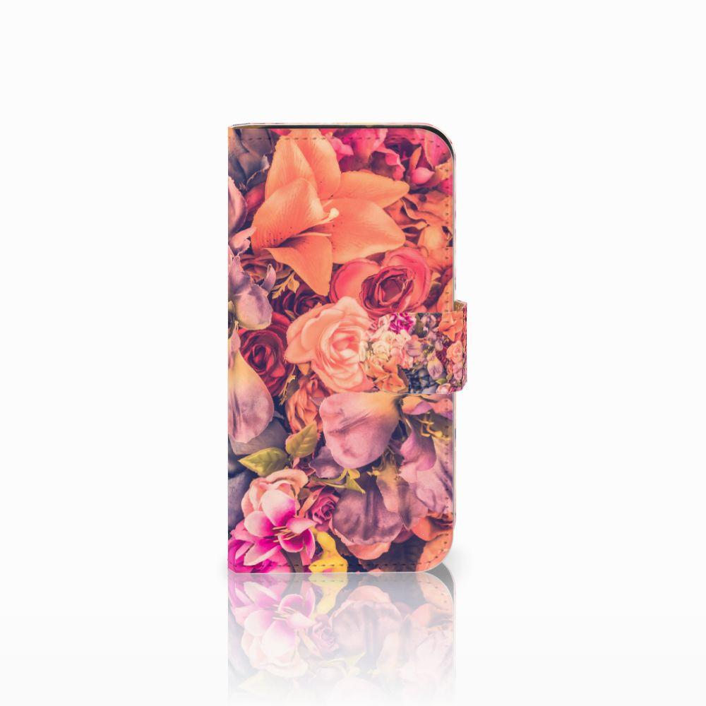 HTC One Mini 2 Boekhoesje Design Bosje Bloemen