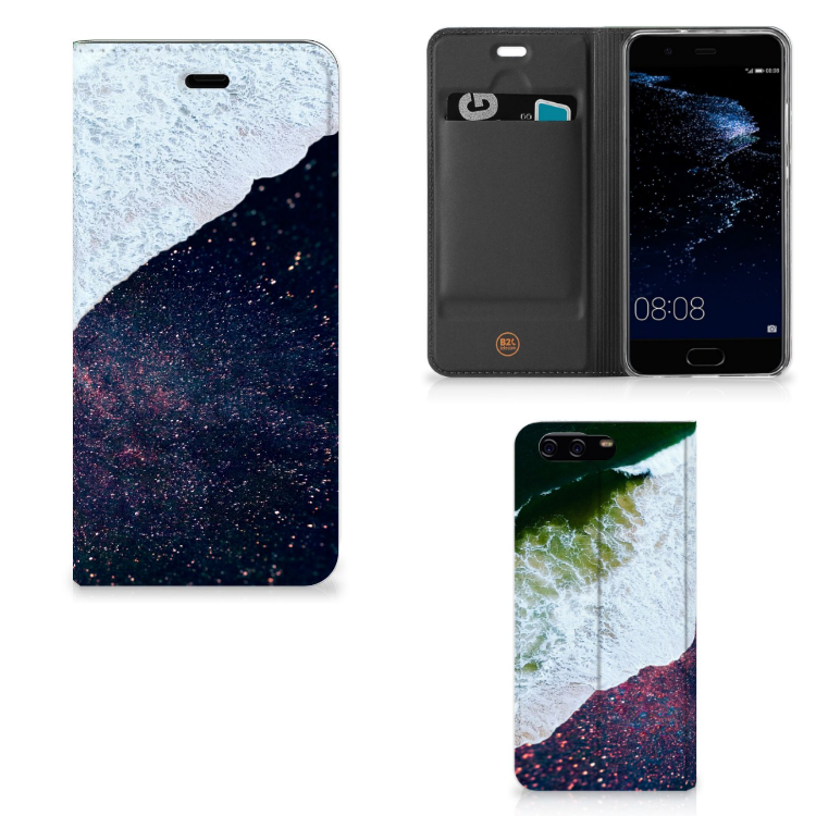 Huawei P10 Stand Case Sea in Space