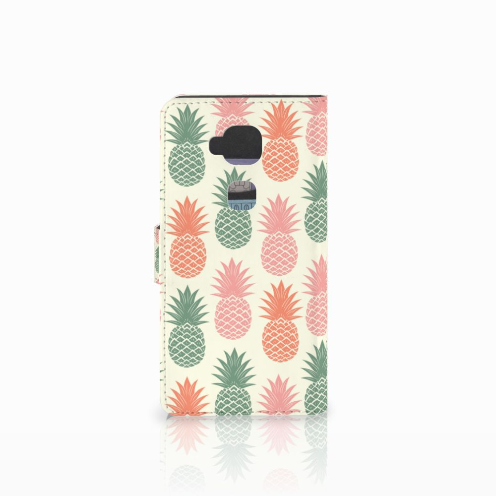 Huawei G8 Book Cover Ananas