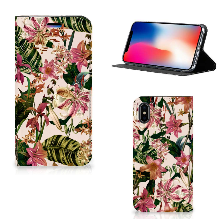 Apple iPhone X | Xs Smart Cover Flowers