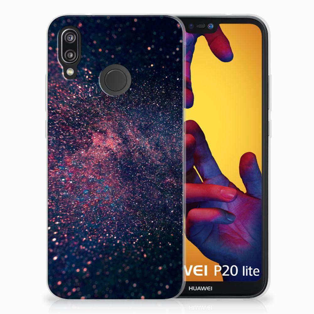 Huawei P20 Lite TPU Hoesje Stars