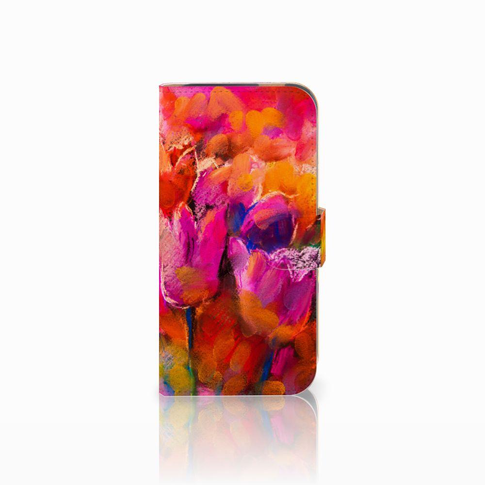 Hoesje HTC One M8 Tulips