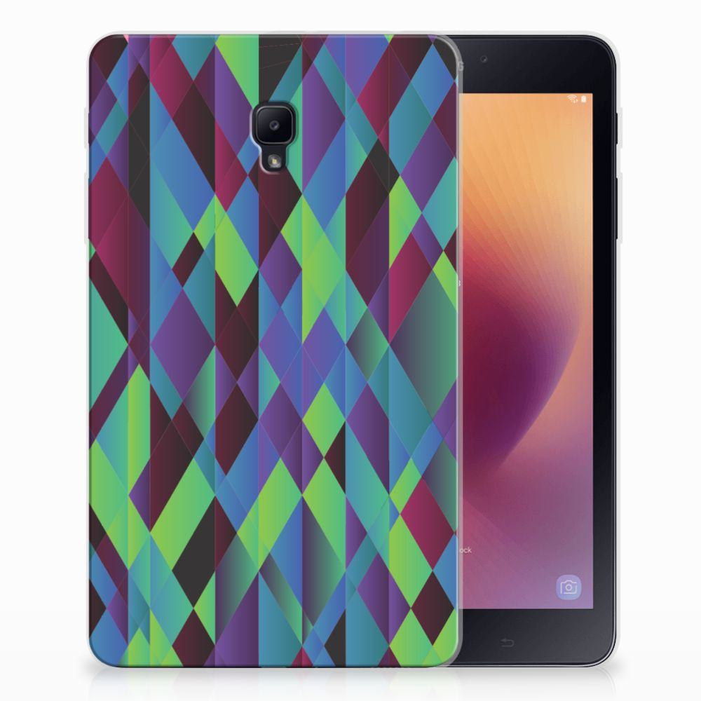 Samsung Galaxy Tab A 8.0 (2017) Back Cover Abstract Green Blue