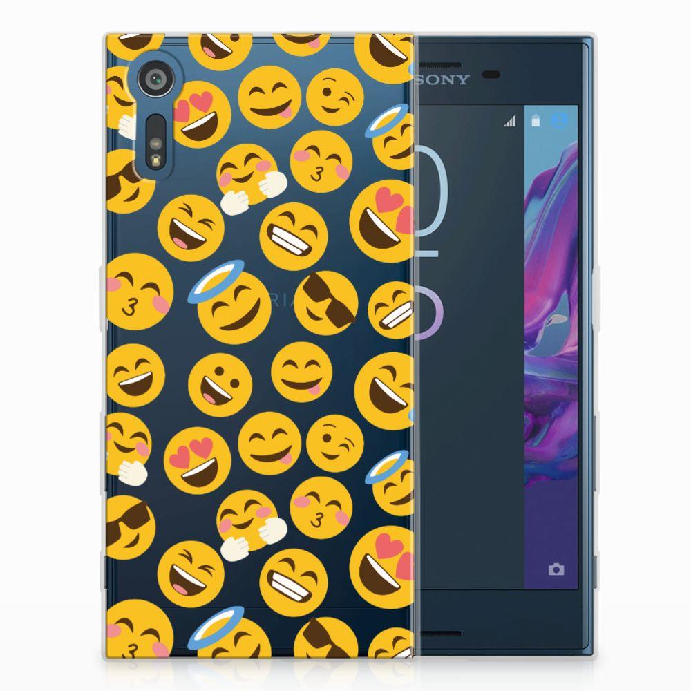 Sony Xperia XZs | XZ TPU Hoesje Design Emoji