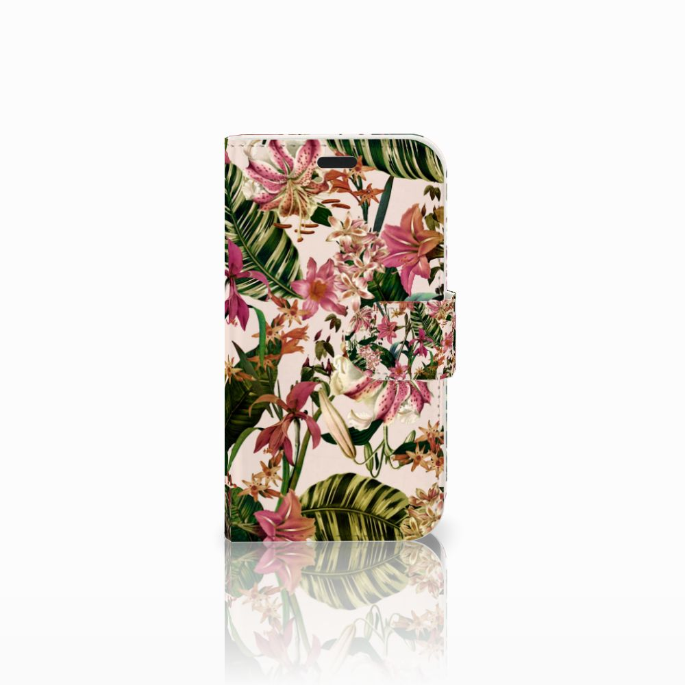 LG L Fino Uniek Boekhoesje Flowers