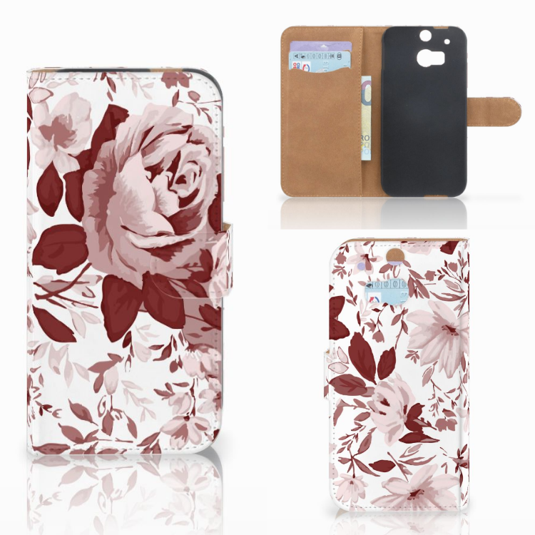 Hoesje HTC One M8 Watercolor Flowers