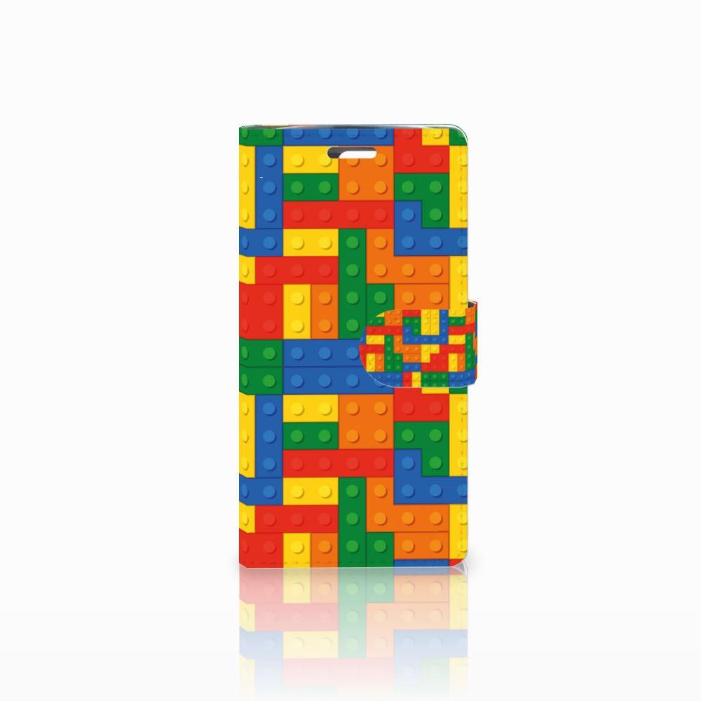 LG K10 2015 Boekhoesje Design Blokken