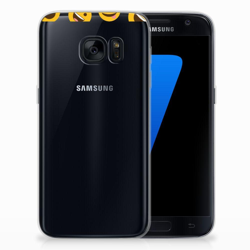 Samsung Galaxy S7 TPU bumper Emoji