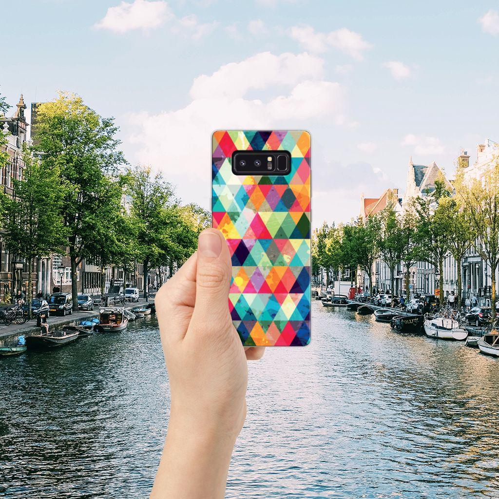 Samsung Galaxy Note 8 TPU bumper Geruit
