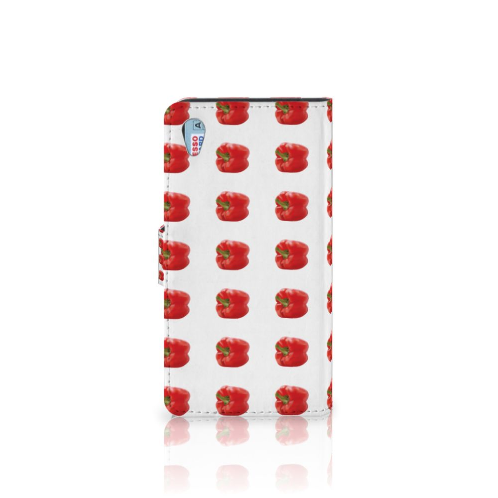 Sony Xperia Z3 Book Cover Paprika Red