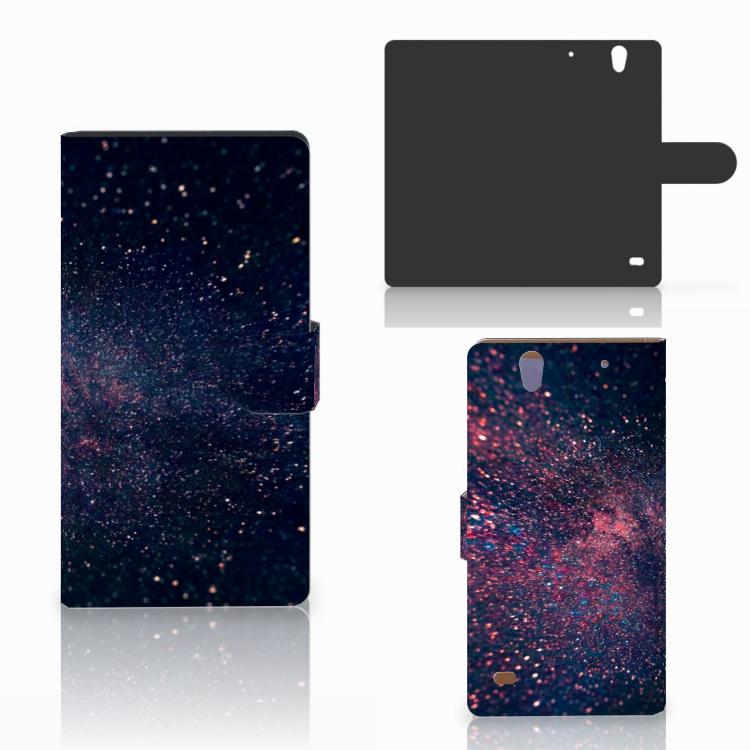 Sony Xperia C4 Bookcase Stars