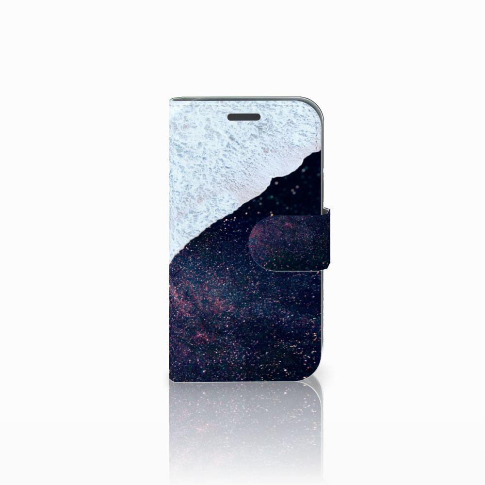 Samsung Galaxy J1 2016 Bookcase Sea in Space