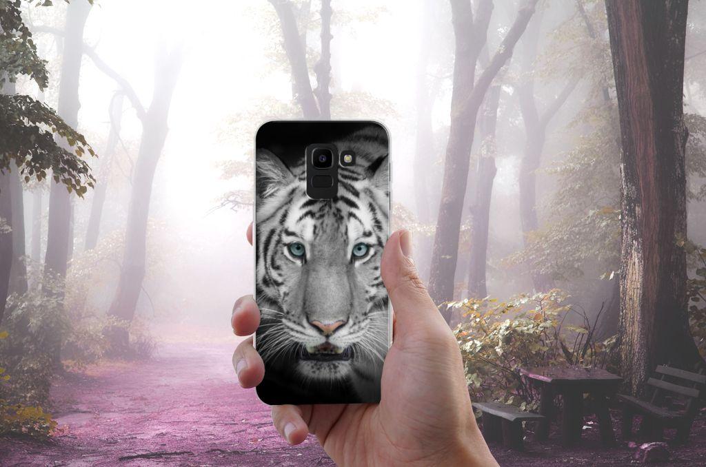 Samsung Galaxy J6 2018 TPU Hoesje Tijger