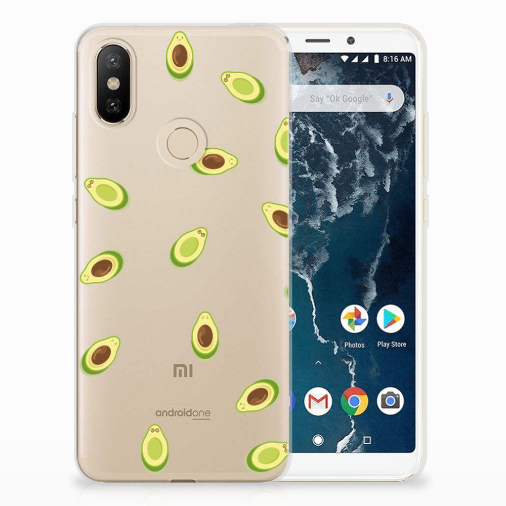 Xiaomi Mi A2 Siliconen Case Avocado