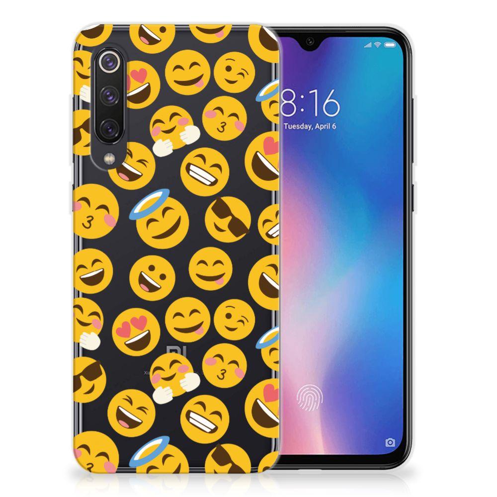 Xiaomi Mi 9 SE TPU bumper Emoji