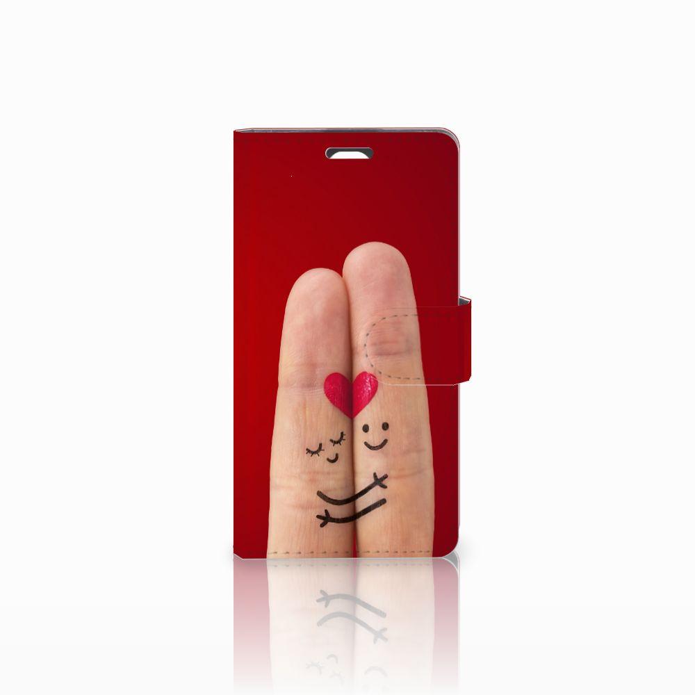 LG Magna | G4C Uniek Boekhoesje Liefde