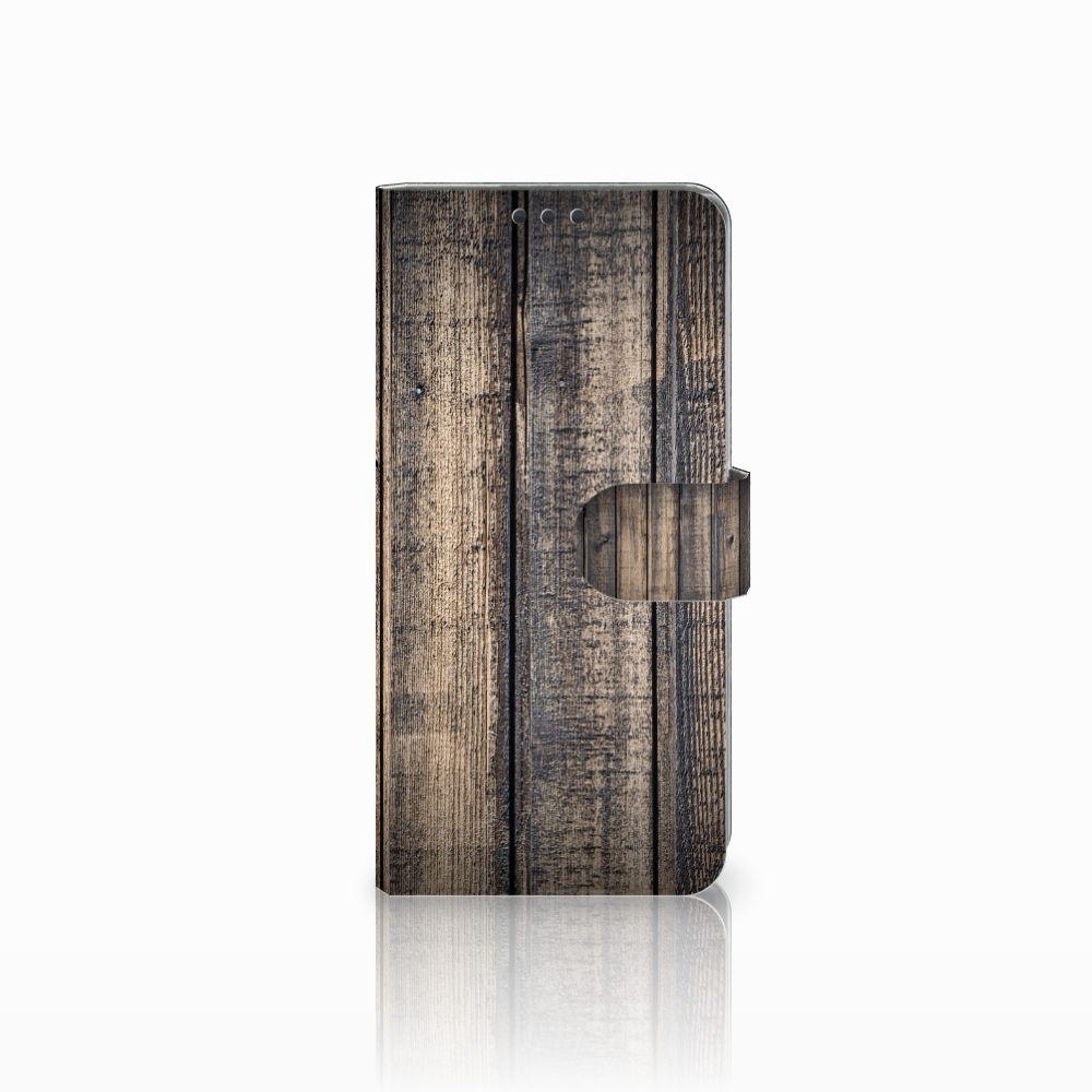 Sony Xperia Z5 Premium Boekhoesje Design Steigerhout