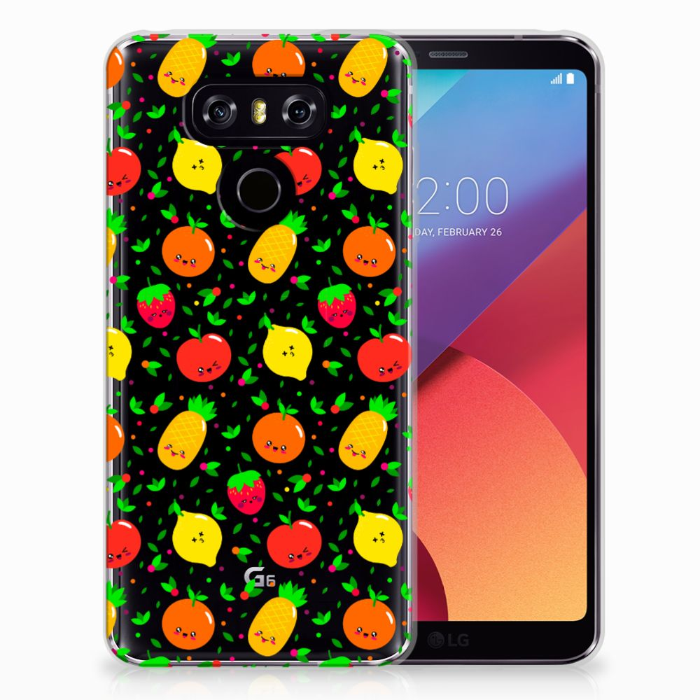 LG G6 Siliconen Case Fruits