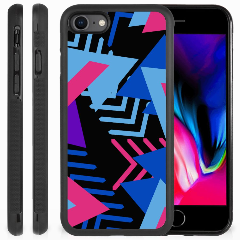 Apple iPhone 7 | 8 Grip Case Funky Triangle