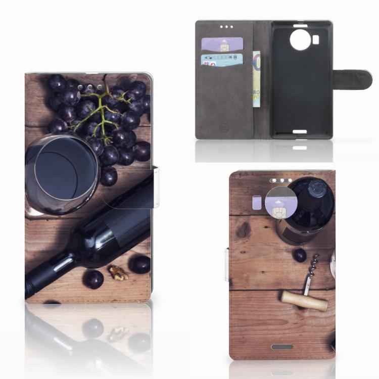 Microsoft Lumia 950 XL Book Cover Wijn